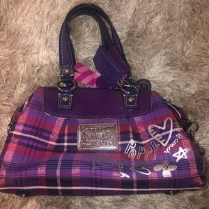 Coach Poppy Purple Handbag